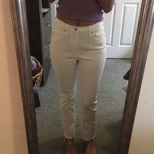 Everlane high rise straight leg jeans